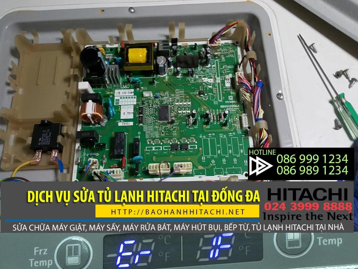 Dịch vụ sửa tủ lạnh Hitachi tại Đống Đa. Dịch vụ sửa giá rẻ, hỗ trợ 24/7
