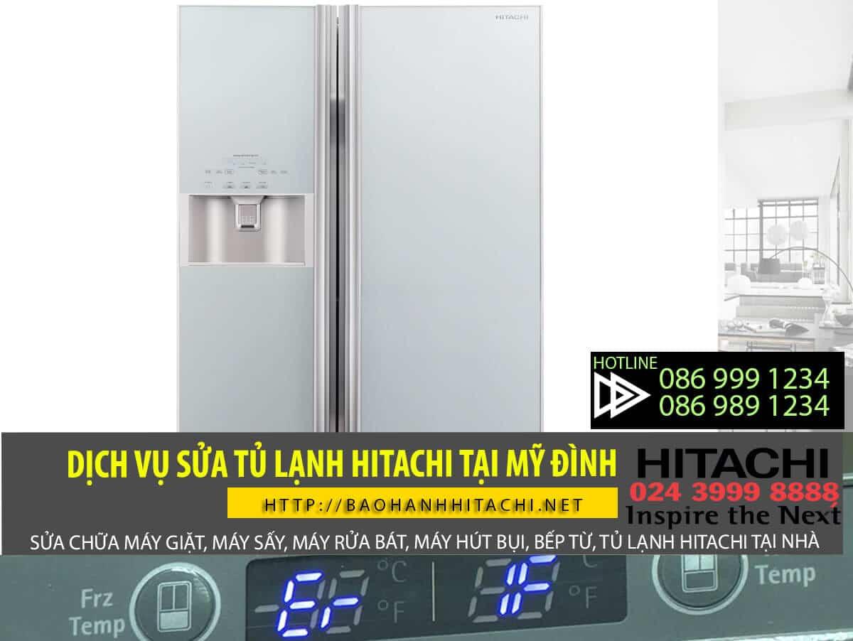 Dịch vụ sửa tủ lạnh Hitachi tại Mỹ Đình. Dịch vụ giá tốt, chất lượng cam kết