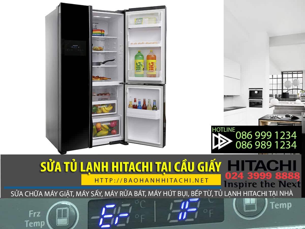 Dịch vụ sửa tủ lạnh Hitachi tại Cầu Giấy. Dịch vụ đáng tin cậy và uy tín tại Hà Nội