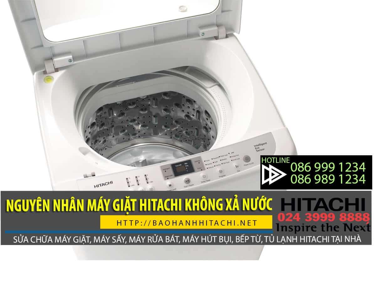 Máy giặt Hitachi không xả nước nguyên nhân có thể do hỏng dây đai động cơ