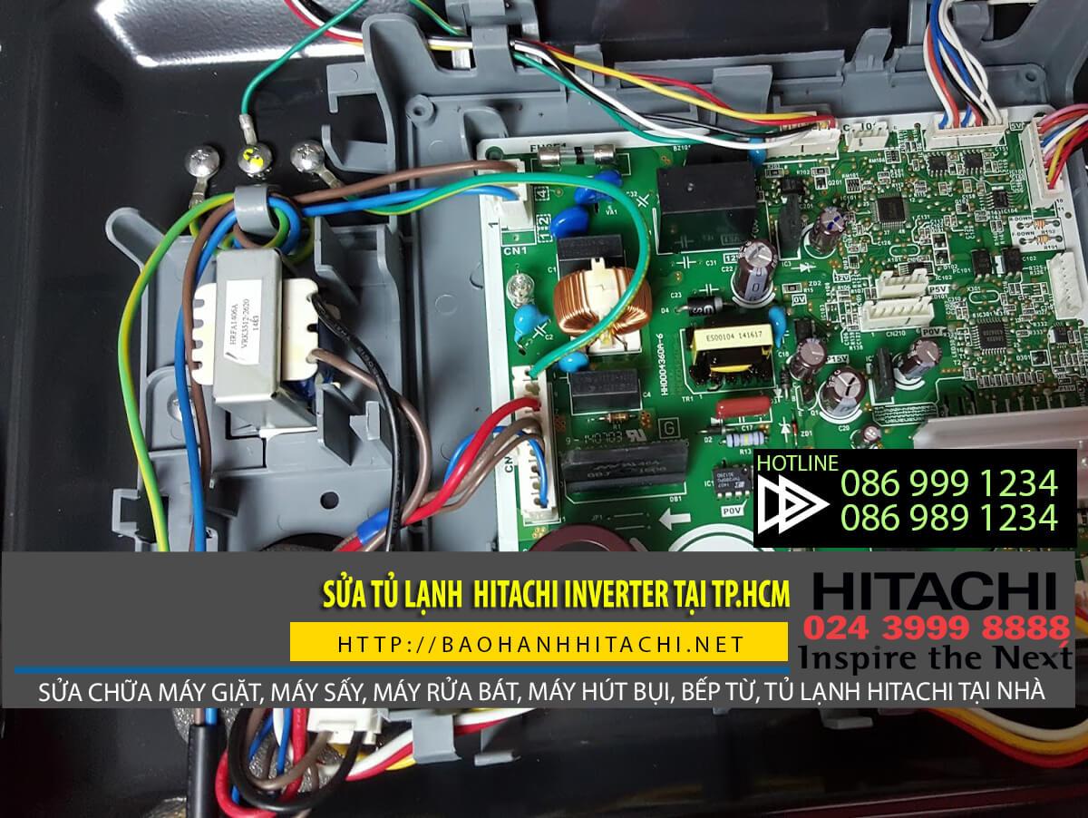 Sửa chữa tủ lạnh Hitachi Inverter và các dòng tủ lạnh Hitachi