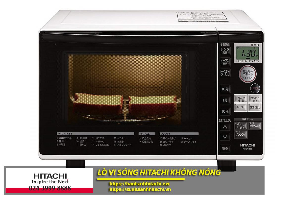 Lý do làm lò vi sóng Hitachi không nóng khi sử dụng do nhiều nguyên nhân