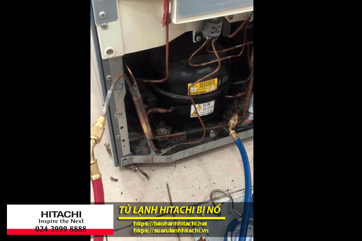 Có nhiều nguyên nhân dẫn đến nguy cơ tủ lạnh hitachi bị nổ.